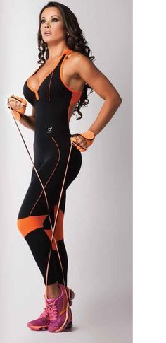 Women's Athletic Jumpsuit 100% Supplex Yoga Pants Zumba Gym Wear #BASEATIVA #PantsTightsLeggings
