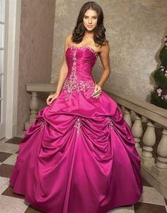 Pink Wedding Dresses 2012 for Romantic Reception