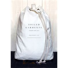 Izola Soiled Garments Laundry Bag from Common Deer