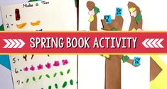 Spring Book Activity: Birds in the Trees - Pre-K Pages