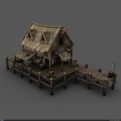 Пираты: Док — Компьютерная графика и анимация — Render.ru