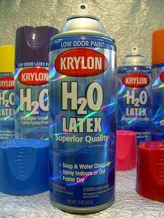 Krylon H2o Latex Spray Paint : krylon, latex, spray, paint, Spray, Paint, Ideas, Paint,, Spray,