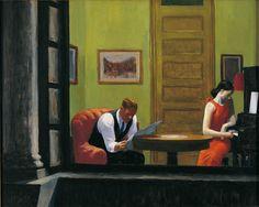 Edward Hopper, Room in New York, 1932, huile sur toile, Sheldon Museum of Art, University of Nebraska – Lincoln, UNL-F.M. Hall Collection © Sheldon Museum of Art.