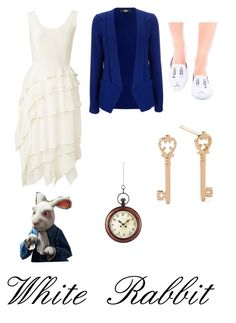 """""""White Rabbit"""" by krusi611 ❤ liked on Polyvore featuring Witchery, Wallis, Y.R.U., ELK Lighting and Alex and Ani"""