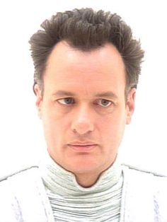 """Q in the guise of """"God"""" in """"Tapestry"""" in Star Trek: The Next Generation portrayed by John de Lancie"""