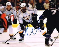 Joel Ward Signed 8x10 Photo #SportsMemorabilia #NashvillePredators