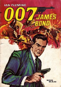 James Bond Movies, Comic Styles, Amazing Spider, Comic Covers, Rarity, Comics, Short Stories, Novels, Comic Books