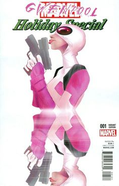 Gwenpool Holiday Special #1: Robbi Rodriguez Variant