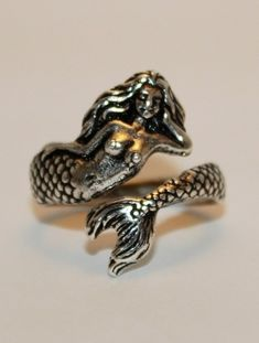 mermaid ring / sea witchery