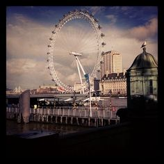 London Eye - Submitted from quintessentialdoctorishness@Instagram to our #pbmobile Photo Contest!