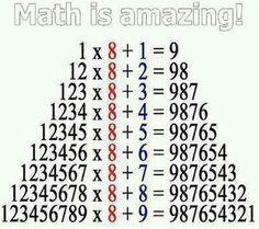 Math is amazing