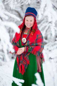 Lule Saami from Jokkmokk (Jåhkåmåhkke or Dálvvadis) in Sweden.