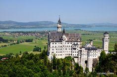 Rota romântica na Alemanha.  Castelo de Neuschwanstein