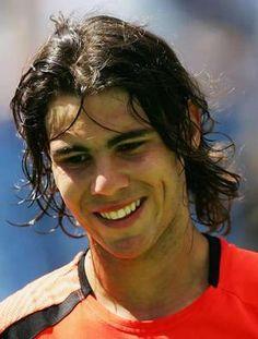 Rafael Nadal - smiling
