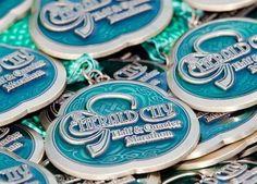 Dublin Emerald City Half Marathon Finisher Medal