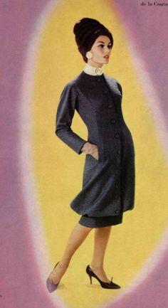 1959- Yves Saint Laurent for Christian Dior