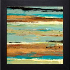 Terra Firma I' by Maria Donovan Framed Art Print - Overstock™ Shopping - Top Rated Prints
