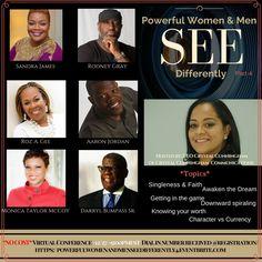Make sure you register at https://powerfulwomenandmenseedifferently4.eventbrite.com.