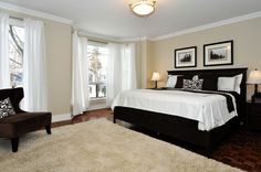 This photograph is of the <b>master bedroom</b> of 363 Howland Avenue in ...