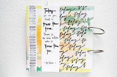 Get Messy: An Art Journal Challenge - Andrea | today