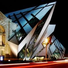 Royal Ontario Museum Expansion (Toronto, Canada) #architecture #design