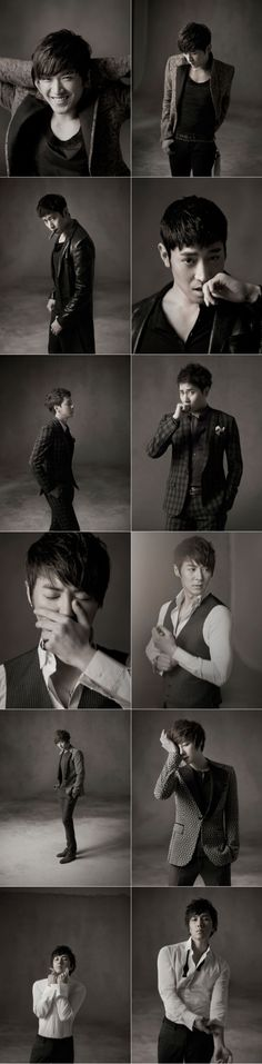 "Album photos: Shinhwa 10th album ""the Return"" [my hubbies... yes all of them.  at one point or another they will all have been my hubbies >_^v"