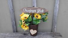 Check out this item in my Etsy shop https://www.etsy.com/listing/457963622/mini-wood-stake-signs-any-wording