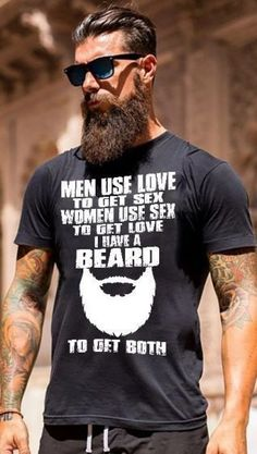 Meaning of the perfect beard styling - beard styles - . - Importance of perfect beard styling – beard styles – - Estilo Hipster, Hipster Man, Beard Styles For Men, Hair And Beard Styles, Barba Grande, Sexy Bart, Beard Quotes, Bearded Men Quotes, Bearded Tattooed Men