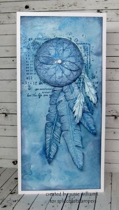 MIX104 Dream Catcher by susie australia - Cards and Paper Crafts at…