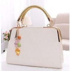 HOT 2016 fashion women handbag japanned leather shoulder bag print candy color messenger bag 5 colors free shipping LZ22-140