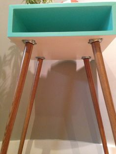 Mid Century Modern Side Table by 4andFor on Etsy
