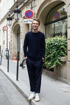 ストリートスナップパリ - César Jameyさん | Fashionsnap.com