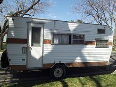 Our 1973 Rancho el Rae trailer - March 2013