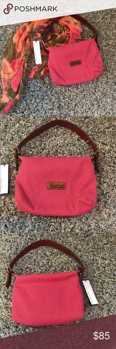 30acf010e4 Dooney   Bourke pink canvas small handbag    New and unused small handbag    . Canvas Shoulder BagShoulder BagsDelishCanvas ...