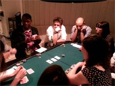 Kadence UK team at our recent Poker night in London. Very serious business.
