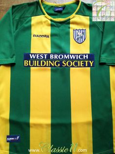 259b414d2bc Relive West Bromwich Albion s 2003 2004 season with this vintage Diadora  away football shirt.