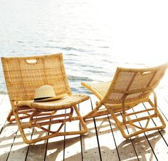 For the beach or pool, at home or on holiday, the Palisades chair is your key to easy summer living | #serenaandlily