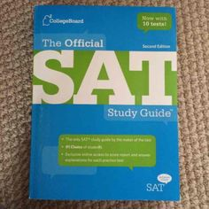 THE OFFICIAL SAT STUDY GUIDE Blue book college board brand never used College board Other