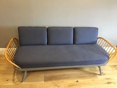 Retro Ercol Daybed Studio Couch Newly Renovated And Upholstered | eBay £1,050