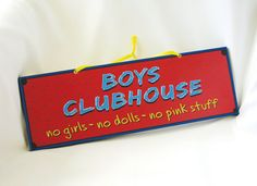 Door or Wall Sign for Boys in Blue, Red and Yellow. Children Wall Art. Boys Room Decor. Comic Book. Summer Trends. Ready to ship...Make this for Jaxon