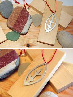 """Pendant """"Hoja"""" by Borku. Sale @ holapersona.com"""