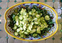 zucchini + arugula {salad}