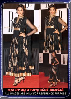 Deepika Padukone in Black Anarkali Bollywood Salwar Suit   Price ₹ 10000/150$  Product Type : Unstiched Salwar Kameez  Bottom : Paired With A Matching Bottom  Dupatta : Net with Tissue Black Dupatta Color : Black Fabric : Santoon Embroidery : Contemporary Category : Anarkali Salwar Kameez Occasion : Casual Wear, Christmas, Diwali, Eid, Festival, Kitty Party, Mehendi, Party Wear, Sangeet, Temple Wear,Wedding Work : Lace,Embroidery,Resham