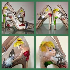 Gorgeous Custom Tinkerbell Shoes