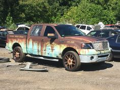 graphics+on+a+2004+chevy+pickups | Chevrolet Avalanche Rust Wrap | Skepple Inc
