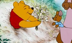 You know who truly understands that Sunday lifestyle? Winnie the Pooh, that's who. Old Disney, Disney Art, Disney Pixar, Disney Animation, Animation Film, Whinnie The Pooh Drawings, Winnie The Pooh Gif, Cartoon Gifs, Cartoon Shows