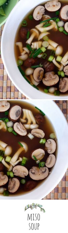 Miso Soup by theviewfromgreatisland: Simple, healthy, and comforting.