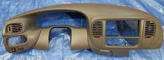 97-03 F 150 EXPEDITION NAVIGATOR 2x4 DASH VENTS TRIM RADIO BEZEL COLOR GRAY #EG2 #FordOEM
