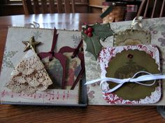 christmas+mini+album+pages | Christmas Chronicles and Chronicles; Keri Schuler's Christmas ...