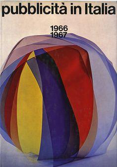 By Franco Grignani (1908-1999), 1967, Pubblicità in Italia 1966-1967, L'Ufficio Moderno, Milan, Italy.